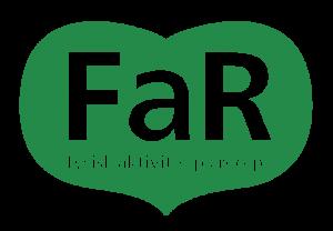 """Bild på FaRs logotyp med texten """"fysisk aktivitet på recept"""""""